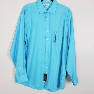Van Heusen classic fit long sleeve dress shirt C18
